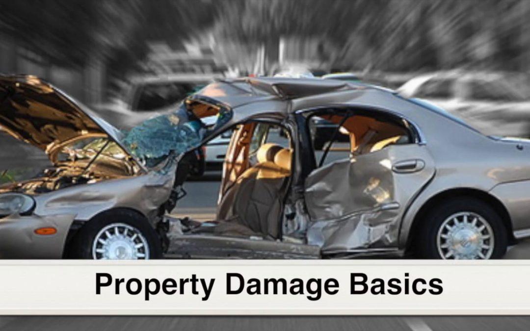 The Basics of Property Damage