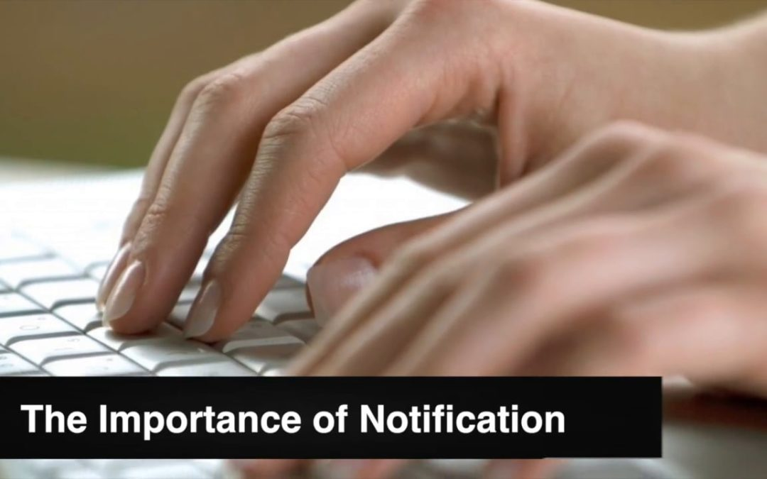Giving Notification